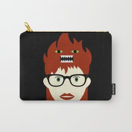 Monster On My Head Carry-All Pouch
