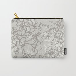 Line Blossom Carry-All Pouch