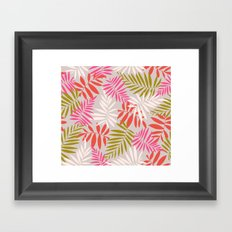 Tropical fell Framed Art Print