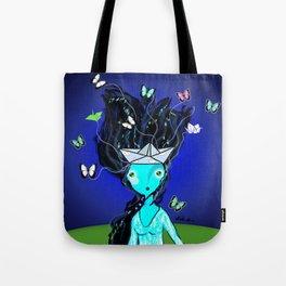 Locura de Mariposas Tote Bag