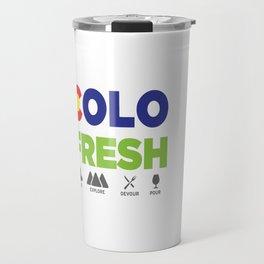 COLOFRESH Travel Mug