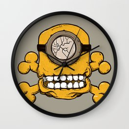Skull minion Wall Clock