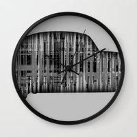 bug Wall Clocks featuring Bug by Derek Donovan