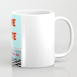Save the Date vintage american Diner Coffee Mug