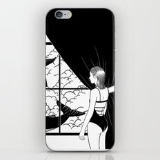 Flying in the ocean, Swimming in the sky iPhone & iPod Skin