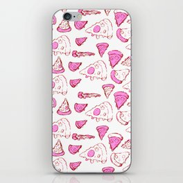 Perfect Pencil Pizza Time in Pink iPhone Skin