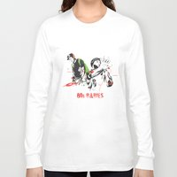 80s Long Sleeve T-shirts featuring 80s Babies by Heavy Rotation
