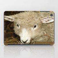 lamb iPad Cases featuring Lamb by Raymond Earley