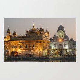 The Golden Temple  Rug