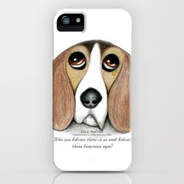 Soulful Eyes by Vale Marino iPhone Case