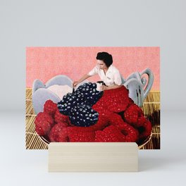 Berry Scam Mini Art Print