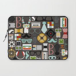 Quirky Robots Laptop Sleeve