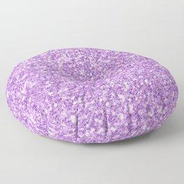 Purple Glitter Floor Pillow