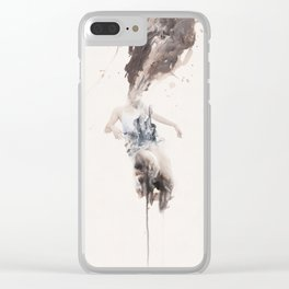 Untitled 14 Clear iPhone Case