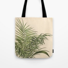 1800s Encyclopedia Lithograph of Date Palm Tote Bag