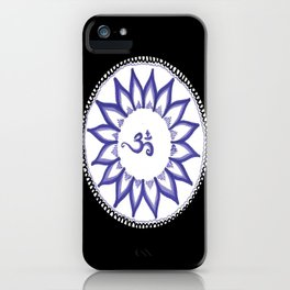 Ohm Flower iPhone Case