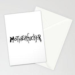 motherfucker - 31daysofcursing Stationery Cards