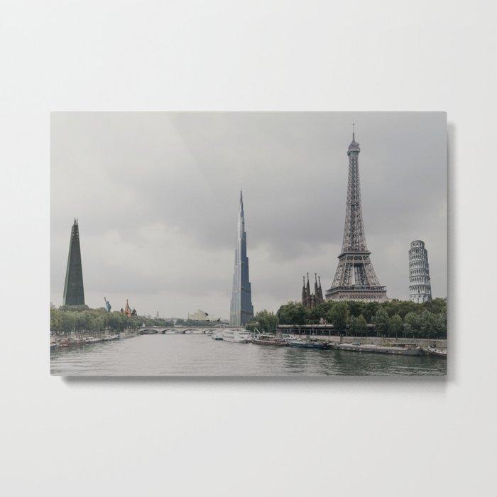 International Cityscape Metal Print