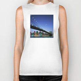 New York City Magic: Brooklyn Bridge Biker Tank