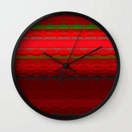 PaintedDesert 11 Wall Clock