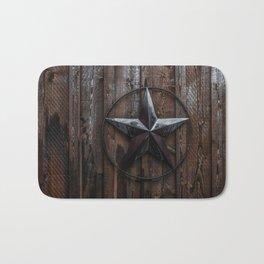 Texas Lone Star Bath Mat