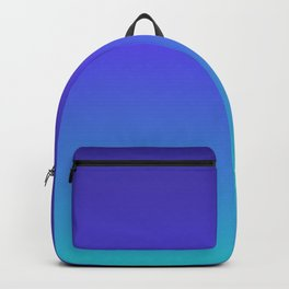 Hipster deep sea gradient Backpack