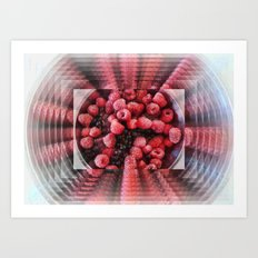 Summer Fruits to Infinity Art Print