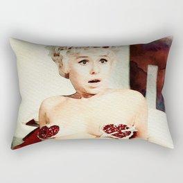 Barbara Windsor, Carry On Actress Rectangular Pillow