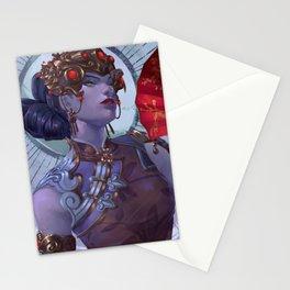Black Lily Stationery Cards