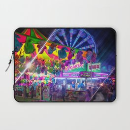 Fun Fun and Funnel Cakes at the carnival Laptop Sleeve