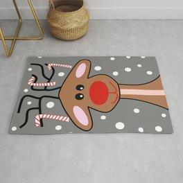 Happy Reindeer Rug