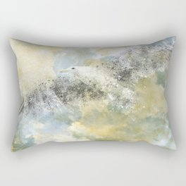 Vanishing Seagull Rectangular Pillow
