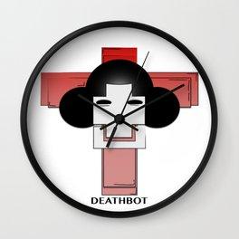 Deathbot Wall Clock