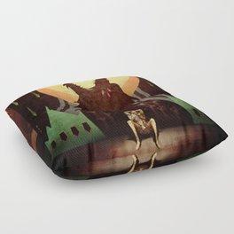 Slow arrow Floor Pillow