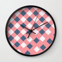 Pattern falloff Wall Clock