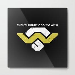 Sig Weav Metal Print