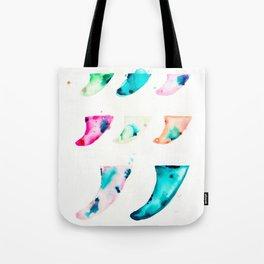 Fin Spectrum Tote Bag