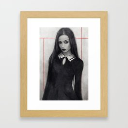 Doesn't Play Well With Others Framed Art Print