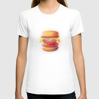 low poly T-shirts featuring Mc Whopper Low Poly by Happy Motion