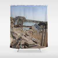 power rangers Shower Curtains featuring Power by KMZphoto