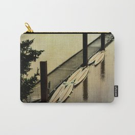 Rowing on the River Carry-All Pouch