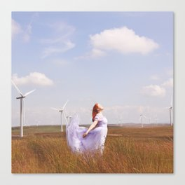 The Many Winged Escape Canvas Print
