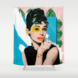 Kylie Hepburn Shower Curtain