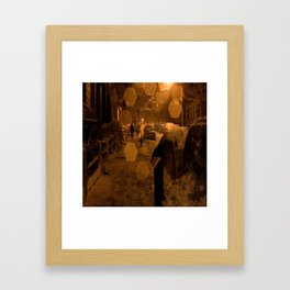 NY Street Framed Art Print