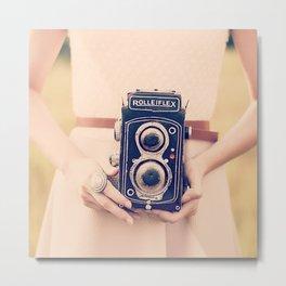 Rolleiflex Metal Print