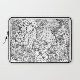 #2 Pencil Doodle (coloring page art) Laptop Sleeve