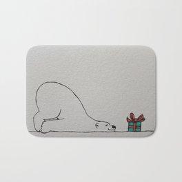 A Polar Bear's Christmas Wish (I Hope It's A Seal) Bath Mat