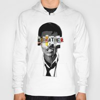 godfather Hoodies featuring Godfather Mix 1 black by Marko Köppe
