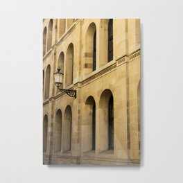 Side of a building in old town Metal Print