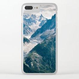 Chamonix, France #society6 #decor #buyart Clear iPhone Case